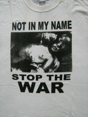 Stop the War tee-shirt