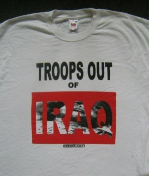 Troops out of Iraq tee-shirt